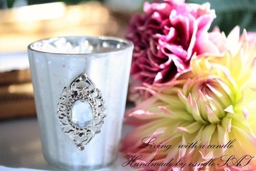 ソイキャンドル- Rose Quartz luxury-