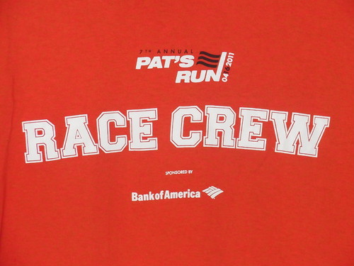 USA古着プリントTシャツL赤RACE CREW片面綿100極美品