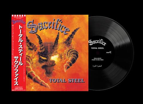 """【特典付き】SACRIFICE """"Total Steel"""" 2LP【帯付き/LP送料込み】"""