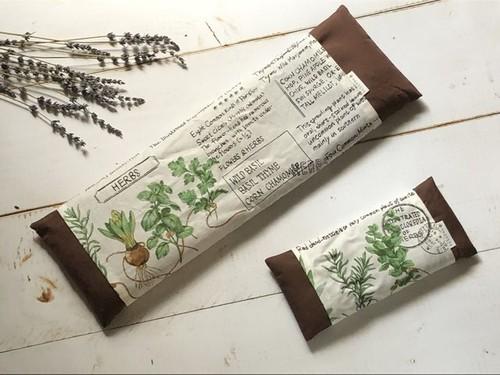 オーツ麦とドライハーブのピローセット(ハーブ図鑑)