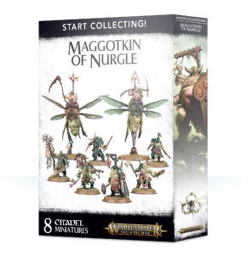 START COLLECTING! MAGGOTKIN OF NURGLE スタートコレクティング マゴットキン オブ ナーグル