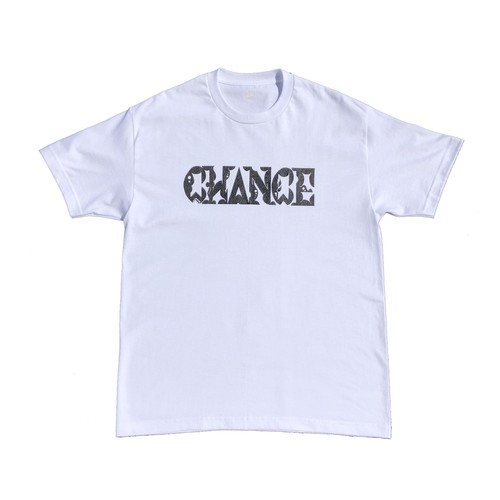 CHANCEGF LETTER TEE - WHITE