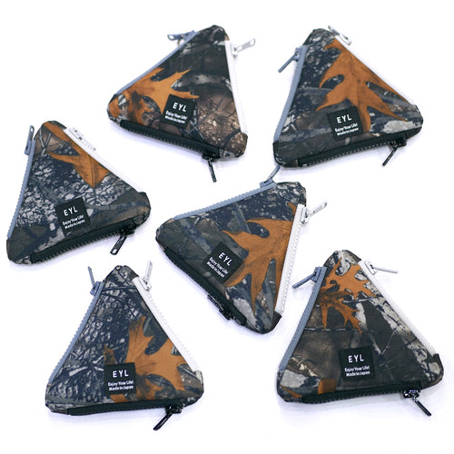 EYL / TRIANGLE COIN PURSE(BACKWOODS CAMO)