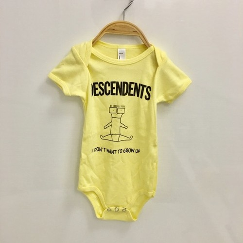 """DESCENDENTS / ディセンデンツ : """"I DON'T WANT TO GROW UP"""" ROMPER"""