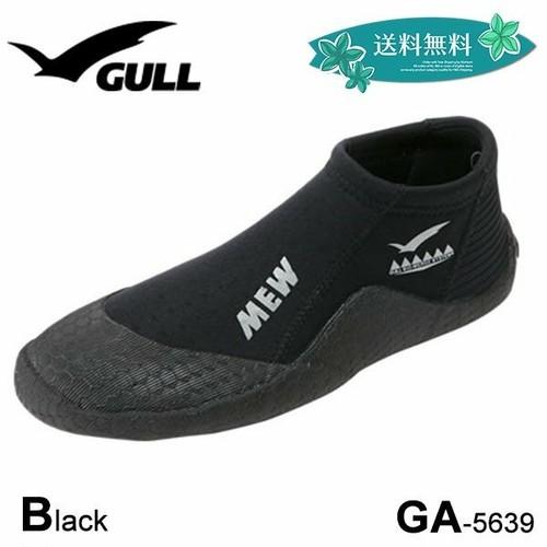 GA-5639 ガル GULL ショートミューブーツ MEW ブラック 黒