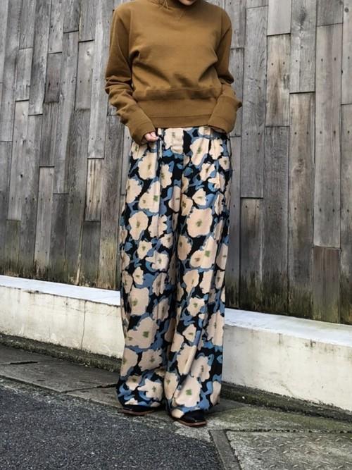 【20AW】Christian Wijnants クリスチャン・ワイナンツ / Flower Pants