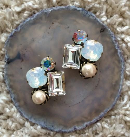 Swarovski pierce earring 1426-07