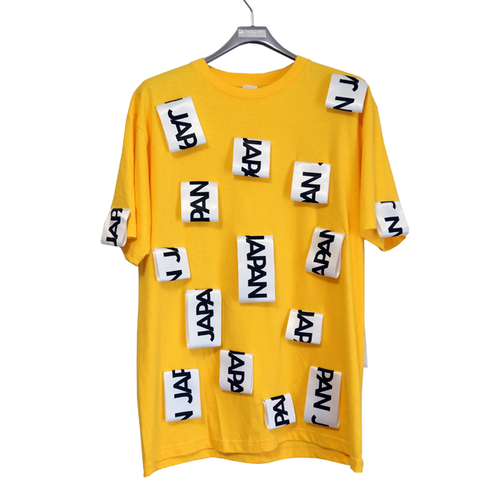 Lau made in Japan『JAPAN‐Tシャツ/黄色』
