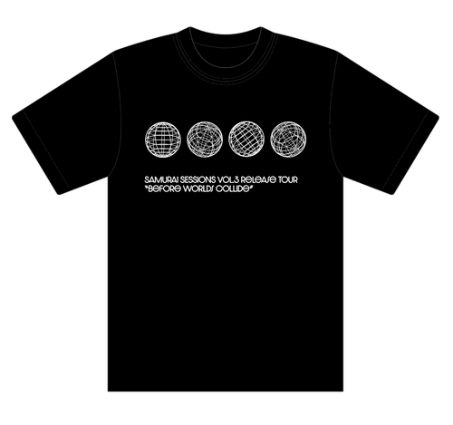 【Before Worlds Collide】 ツアーTシャツ+DVD セット