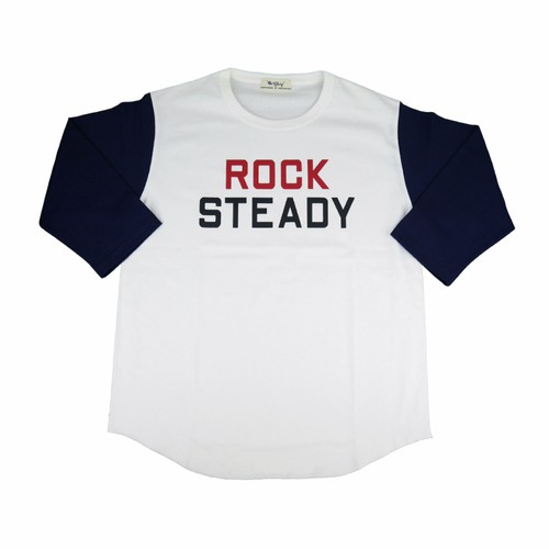 ROCKSTEADY 3/4 Tee 【OR GLORY】
