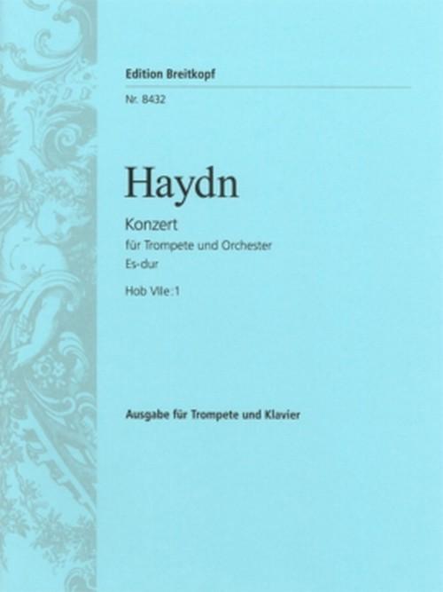 ハイドン:トランペット協奏曲変ホ長調Hob Vlle Nr.1/トランペット・ピアノ