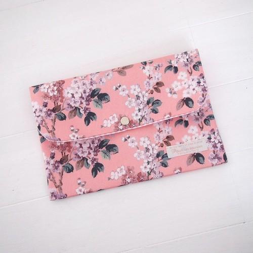 リバティ 母子手帳ケース ジョセフィン/ピンク Lサイズ