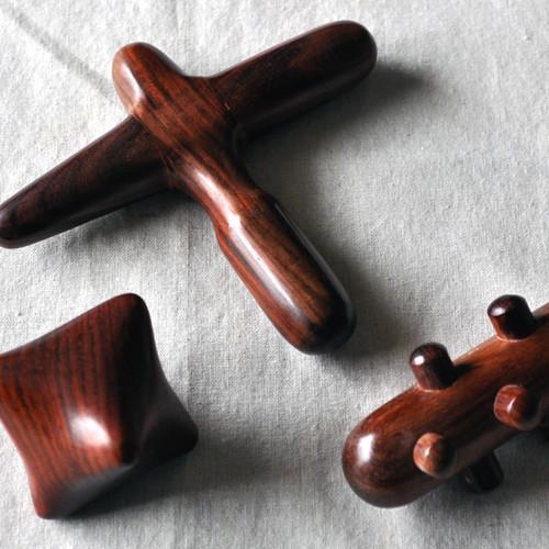 木製マッサージグッズ/3点セット