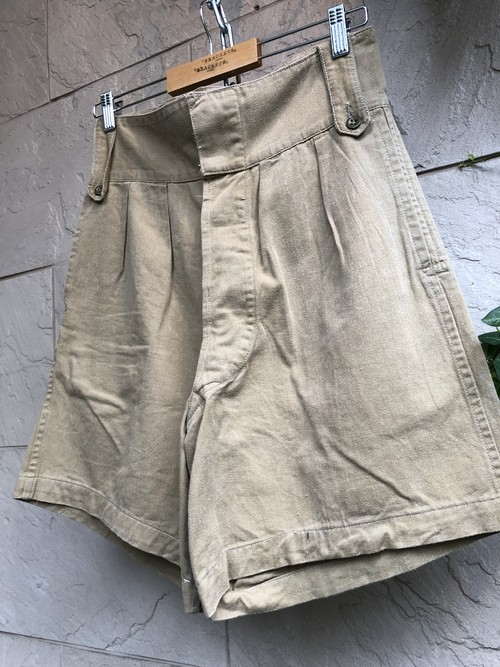 〜1960s British military khaki shorts 3