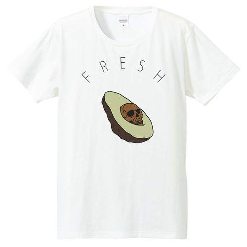 [Tシャツ] Creepy avocado