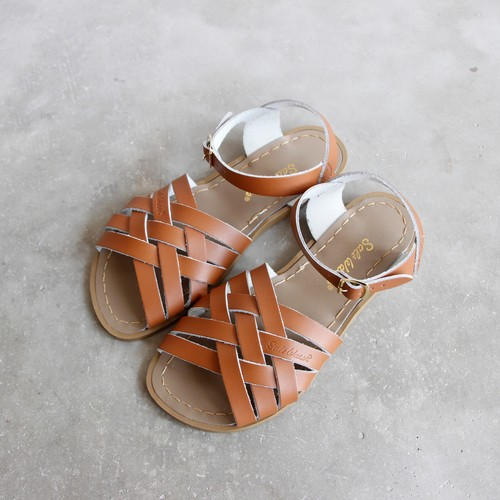 《SALTWATER SANDALS》Retro / tan / 22.9-24.1cm