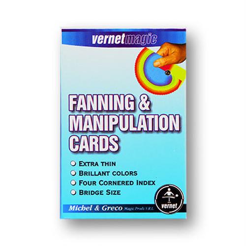 ファン&マニピュレーションカード(ブリッジサイズ:バーネット製)