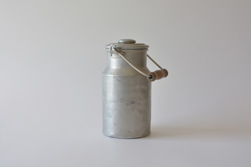 アルミ製 ミルク缶