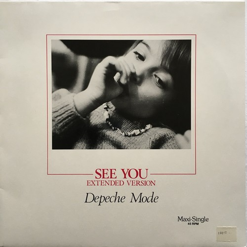 【12inch・独盤】Depeche Mode /  See You (Extended Version)