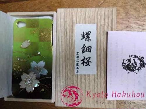 螺鈿桜iphoneケース