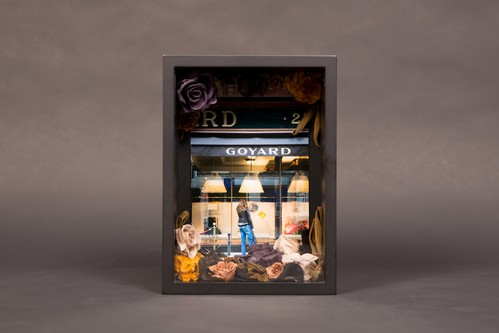 Paris Window Collaboration Item_Goyard_ w/Mami Yamamoto