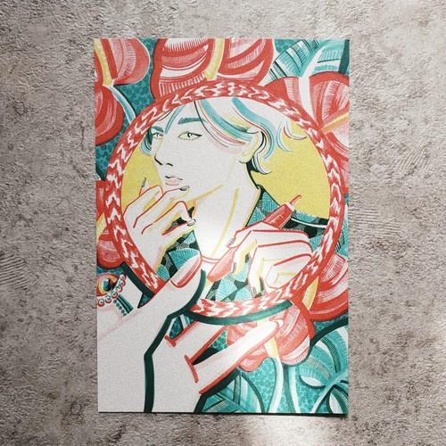 POST CARD 【Anthurium】
