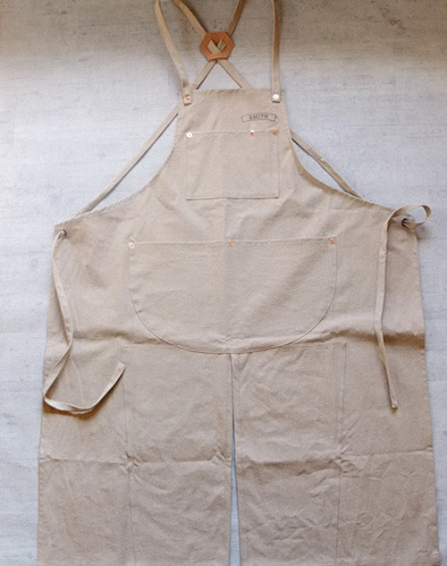 Smith Apron [Wood Beige]