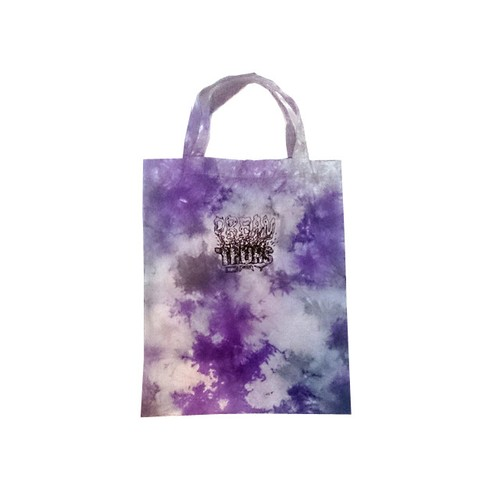 THURSDAY / TIE DYE TOTE BAG (Purple)