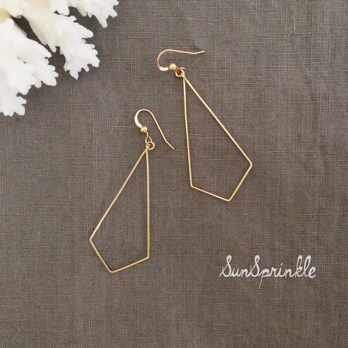 Gold Delicate Hoop for Minimalist