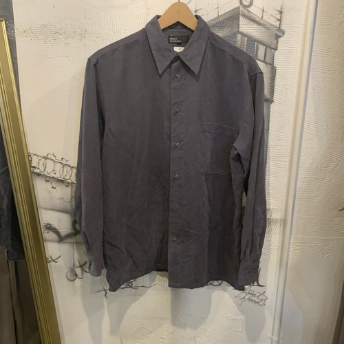 fake suede  polyester shirt