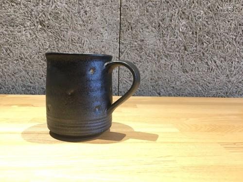 《作家名・江口 香澄》 黒・マグカップ