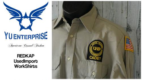 アメリカ輸入古着 ワークシャツREDKAP(レッドキャップ)製☆アメカジ古着ファッション