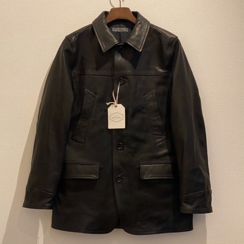 HORSE HIDE CAR COAT (BLACK) / LOST CONTROL