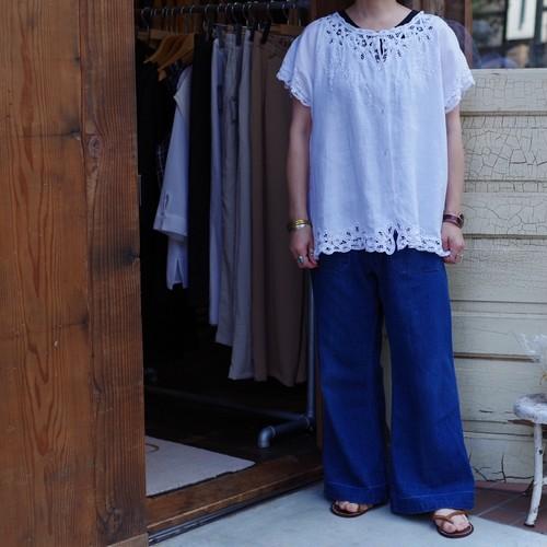 Pattens lace Linen Shirt / パテンレース リネン シャツ