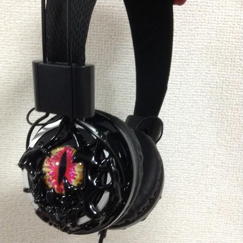 Devil eye headphone  希少種