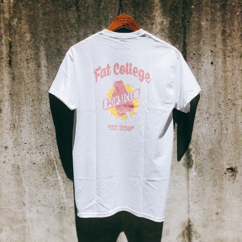 FAT COLLEGE ✖︎ JOURNAL STANDARD Double Name / SNACK D Popsicle S/S Tee