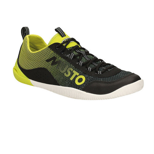 Musto Dynamic Pro Shoe [42/uk8/Black/Lime] FS0170