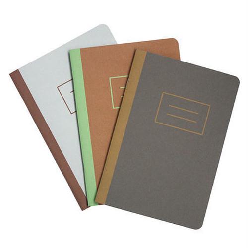 ハンドメイドのノート basic notebook  3冊セット