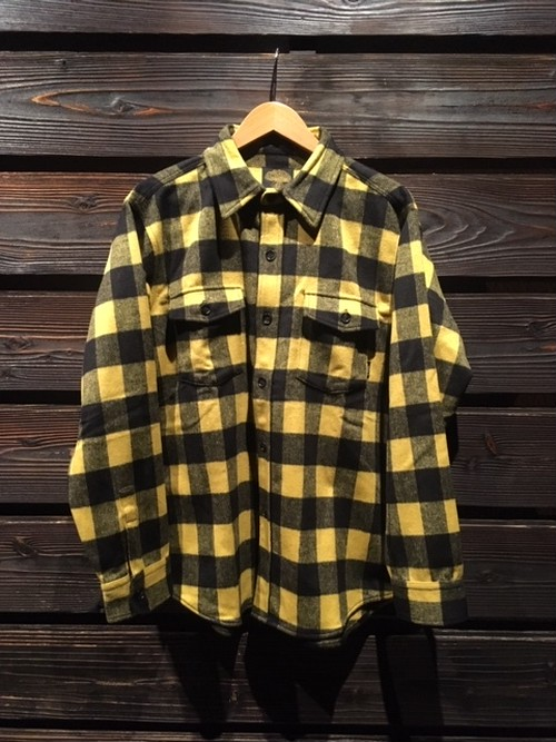 Green Clothing  WOOL FLANNEL SHIRTS  yellow block