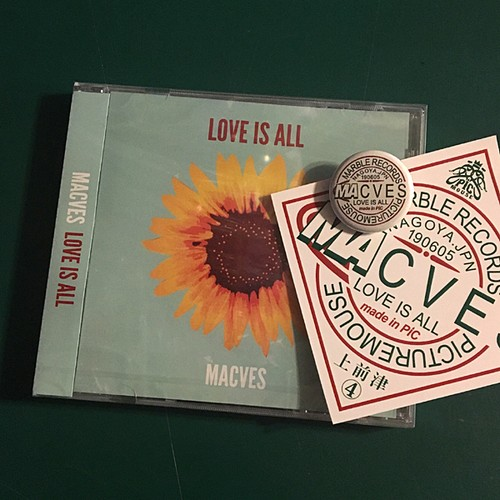 MACVES / love is all (CD)