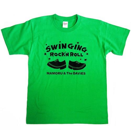 2003 SWiNGiNG R&R Tシャツ (ブライトグリーン)