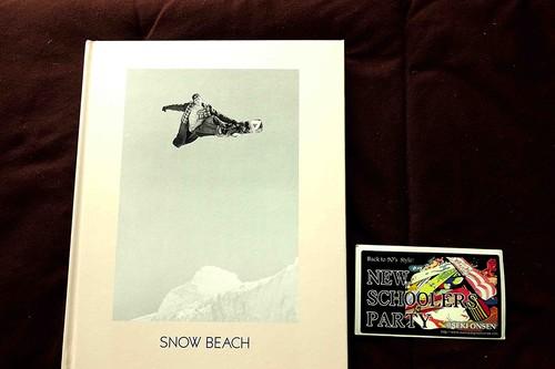 ■写真集(洋書)SNOW BEACH: Snowboarding Style 86-96 mdm store 特別おまけ付き