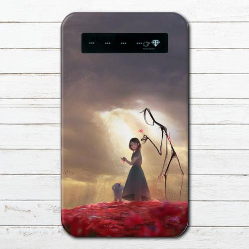 #065-002 モバイルバッテリー ファンタジー おしゃれ かわいい 綺麗 iphone スマホ 充電器 タイトル:dear 作:アナ