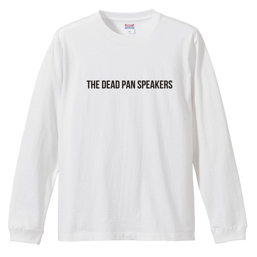 """NOISE"" long sleeve T-shirts(White/Black)"
