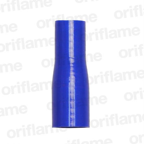 異径・ストレートホース・内径28 x 22mm・ブルー