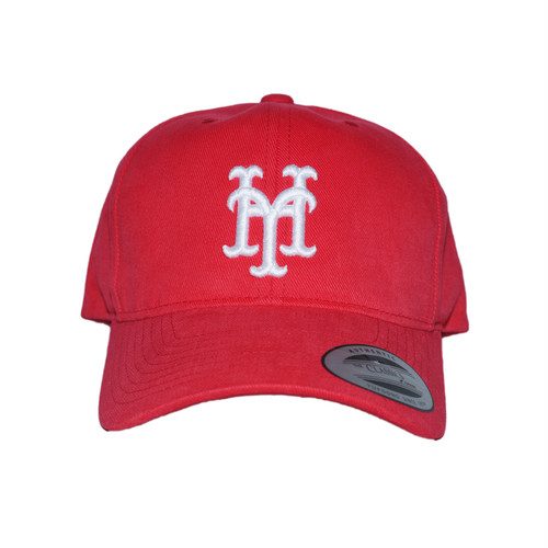 YH Mets Low Cap (Red×White)