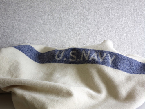 1940's US Navy Medical Doctor Wool Blanket