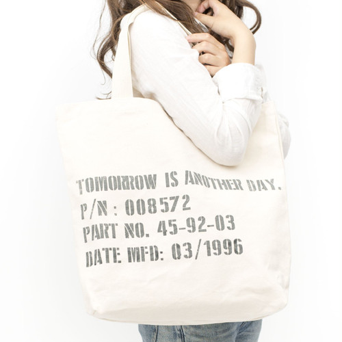 [ the HAMP works ] TOTE_BAG B-9 :  STENCIL