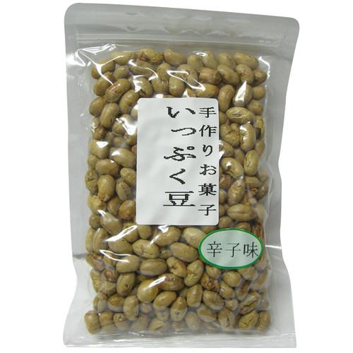 手作りお菓子「いっぷく豆」辛子味 100g