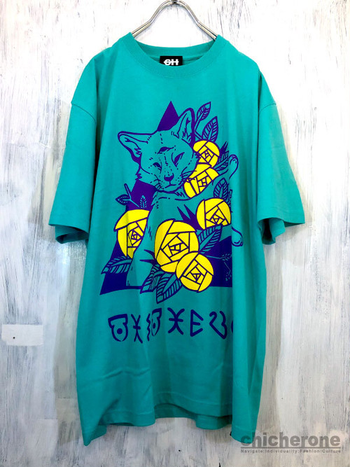 【CHIC HERO】CAX & ROSE T/S EMERALD